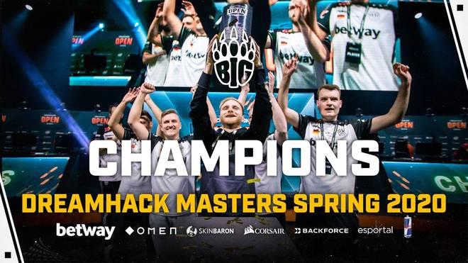 In einem Herzschlagfinale gewinnt BIG die DreamHack Masters 2020 gegen G2 Esports