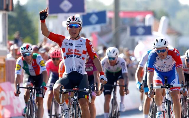 Caleb Ewan gewann die elfte Etappe des diesjährigen Giro d'Italia