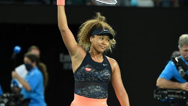 Naomi Osaka weiß bei den Australian Open zu überzeugen