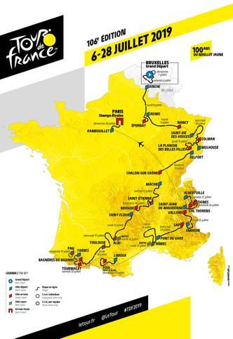 Bei der 106. Austragung der legendären Tour de France (ab 6. Juli täglich im LIVETICKER) stehen für die Fahrer vom Start in Brüssel bis zur Ankunft in Paris 21 Etappen auf dem Programm. SPORT1 stellt die Teilstücke und ihre Profile vor