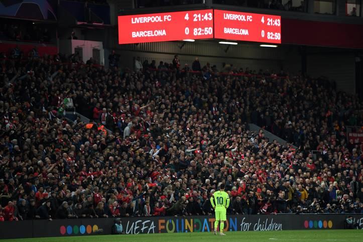 Ein Alptraum für Barça! Mit einer 0:4-Niederlage im Rückspiel des Champions League-Halbfinals beim FC Liverpool scheidet der FC Barcelona nach einem 3:0-Sieg im Hinspiel aus. Der Triple-Traum? Jäh geplatzt!
