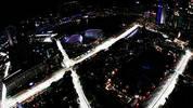 Vor atemberaubender Skyline wird der Singapur-GP ausgetragen. SPORT1 hat die Bilder zum Rennen (Copyright: twitter@MercedesAMGF1)