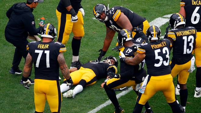 Brutaler Hit! Sorge um Steelers-QB