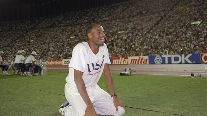 Mike Powell übertrumpfte mit 8,95 Meter auch Bob Beamon
