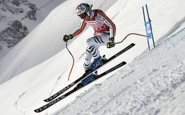 Viktoria Rebensburg muss sich in St. Moritz mit dem zehnten Rang zufrieden geben