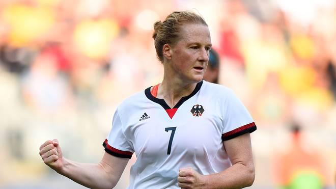 Melanie Behringer wurde 2016 mit Deutschland Olympiasiegerin