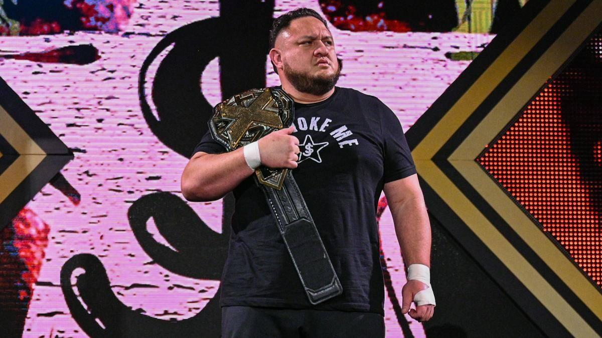 Samoa Joe ist nicht mehr Champion bei WWE NXT
