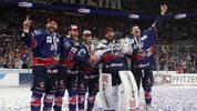 Die Adler Mannheim gewannen in der Vorsaison die Meisterschaft in der DEL