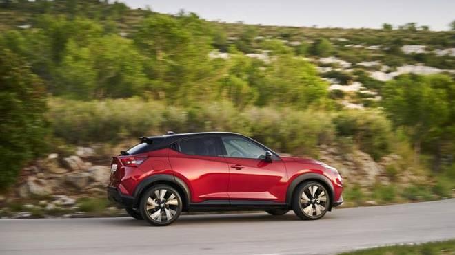 Richtig schnell ist der Nissan Juke auf Spritztouren nicht unterwegs, hat allerdings einen geringen Spritverbrauch