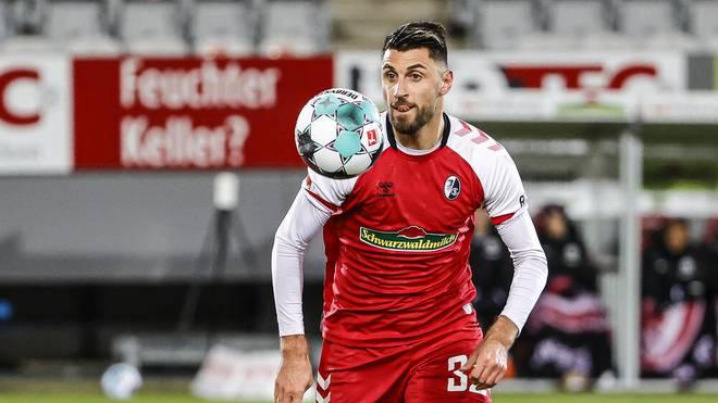 Vincenzo Grifo steht bei sieben Saisontoren für den SC Freiburg