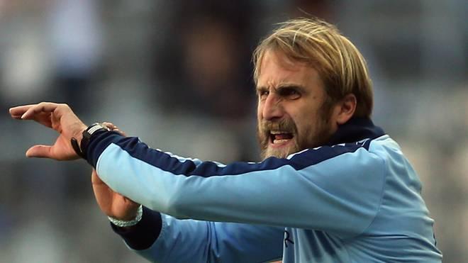 Konnte mit der Leistung des TSV 1860 München nicht zufrieden sein: Trainer Daniel Bierofka