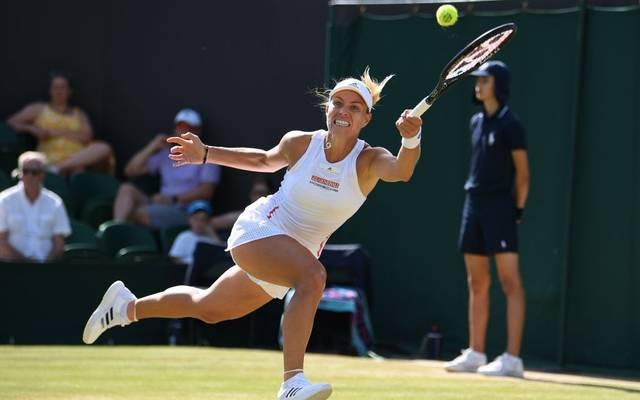 Angelique Kerber könnte bald in Deutschland bei einem Turnier auf Rasen spielen