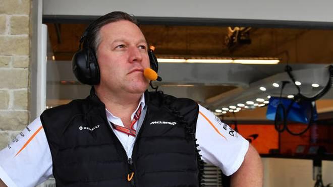 """McLaren-Chef Brown sieht Formel 1 in """"fragilem Zustand"""""""