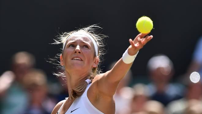 Wiktoria Asarenka spielte 2003 ihre erste Profisaison