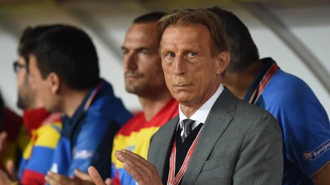 Christoph Daum trainierte zuletzt die romänische Nationalmannschaft