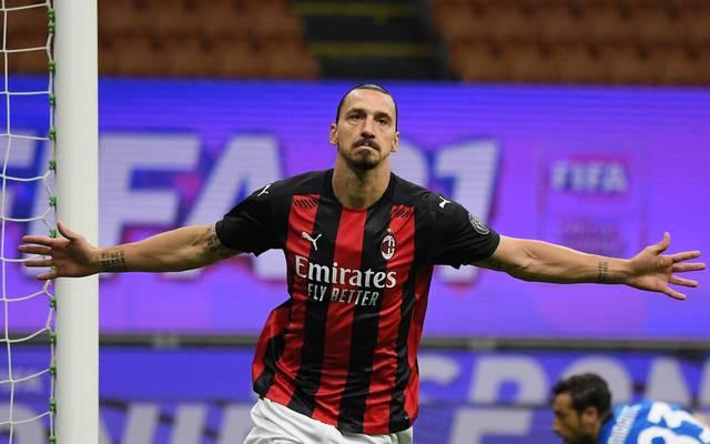 Ibrahimovic spielt seit Anfang 2020 wieder beim AC Milan