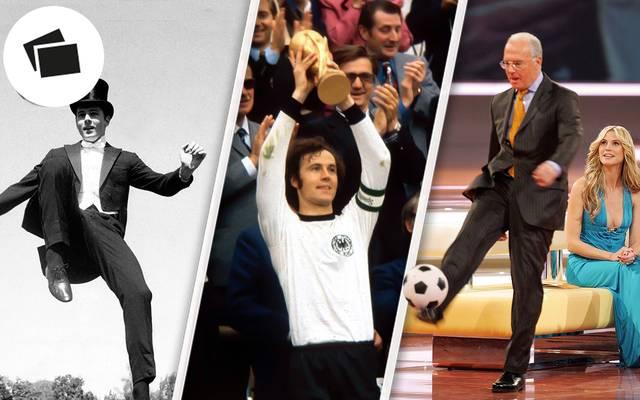 Franz Beckenbauer feiert seinen 74. Geburtstag