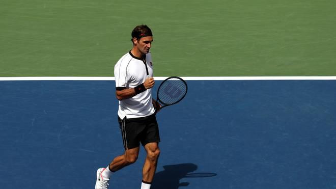 Roger Federer machte kurzen Prozess mit David Goffin