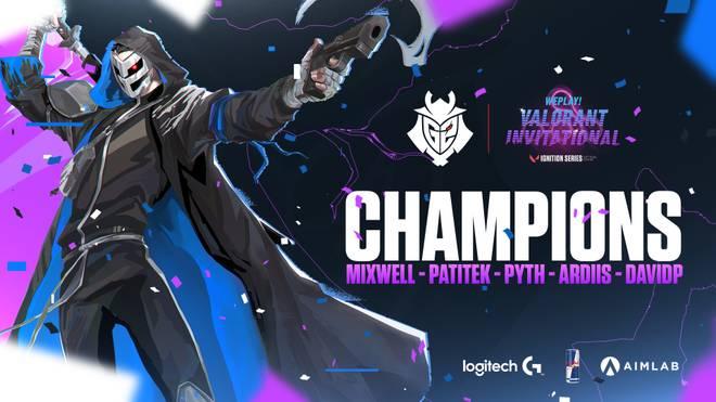 G2 Esports gewinnt WePlay! Invitational