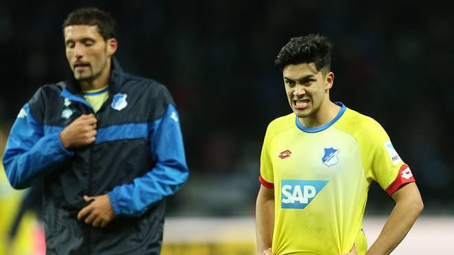 Nadiem Amiri (r.) spielte mit Kevin Kuranyi gemeinsam bei der TSG Hoffenheim