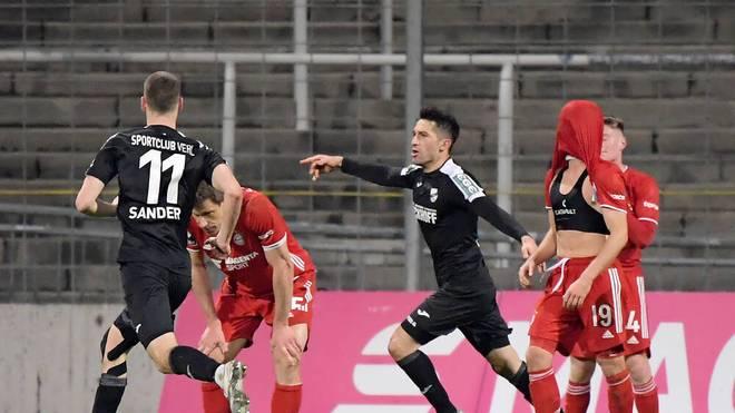 Verl fügt dem FC Bayern II die nächste Niederlage zu