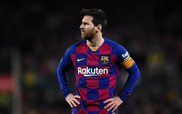 Lionel Messi kann derzeit offenbar nur unter Schmerzen spielen