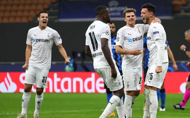 Borussia Mönchengladbach verlässt Mailand mit einem Punkt im Gepäck