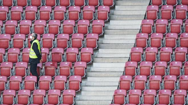 Derzeit sind keine Fans in den Stadien erlaubt