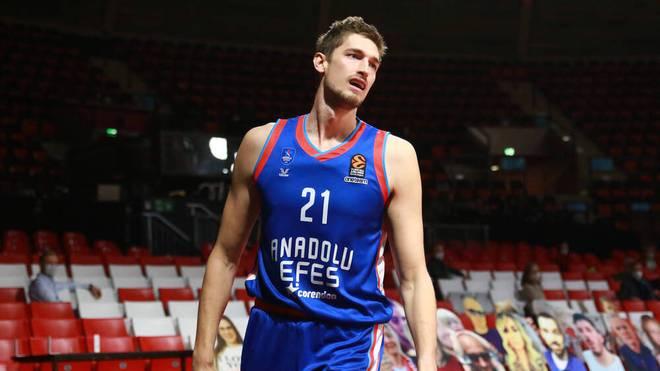 Tibor Pleiß spielt seit 2018 beim türkischen Erstligisten Anadolu Efes Istanbul