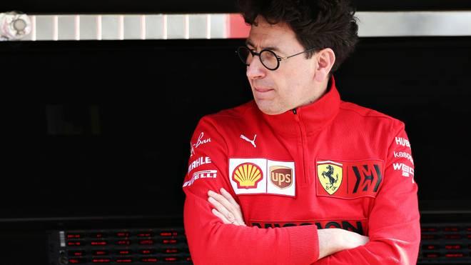 Teamchef Mattia Binotto spricht über die Defizite der Ferrari-Motoren