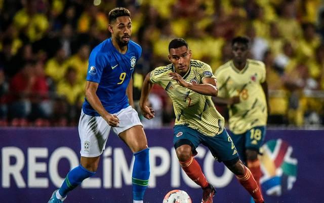 Matheus Cunha erzielte gegen Kolumbien seinen dritten Turniertreffer