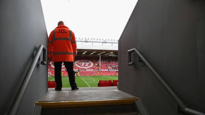Die Stewards des Liverpooler FC sind derzeit ohne Beschäftigung