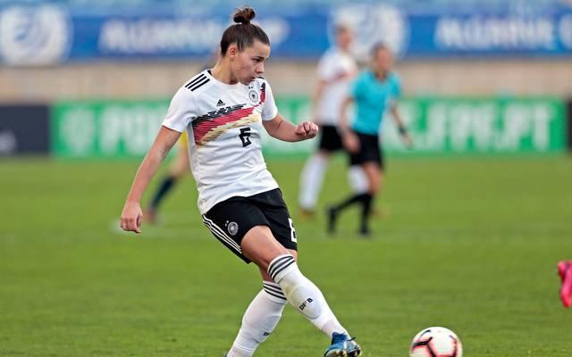 Lena Oberdorf spielt trotz ihres jungen Alters schon in der A-Nationalmannschaft