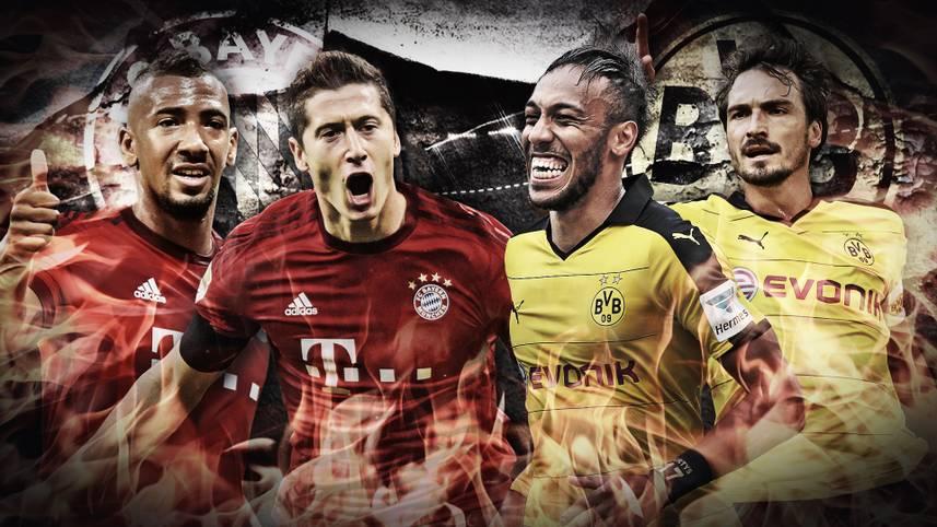 Es ist das Spitzenspiel, auf das Fußball-Deutschland gewartet hat. FC Bayern München gegen Borussia Dortmund, Erster gegen Zweiter. SPORT1 vergleicht die Teams im Head-to-Head