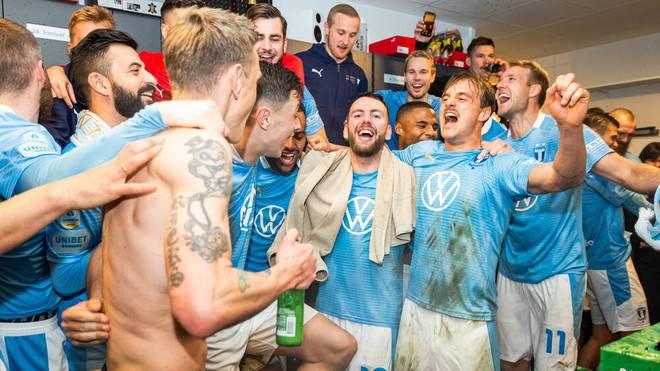 Die Meisterfeier von Malmö FF wurde jäh unterbrochen