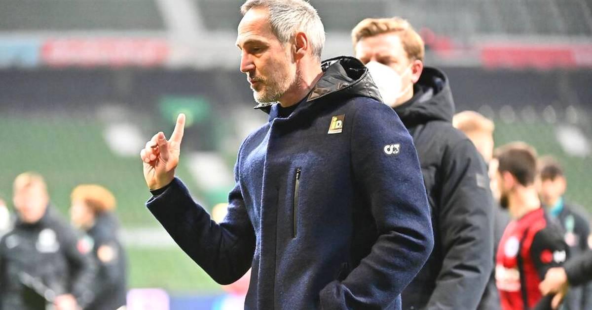 Bundesliga: Eintracht Frankfurt zofft sich mit Werder Bremen - die Gründe - SPORT1