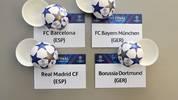 Champions League - Achtelfinal-Auslosung