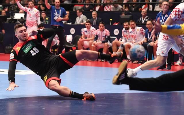 Deutschland spielte gegen Kroatien vor allem in der ersten Hälfte stark