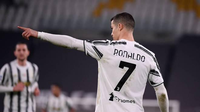 Cristiano Ronaldo traf gegen Spezia