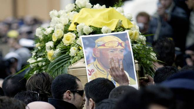 Marco Pantani starb im Februar 2004