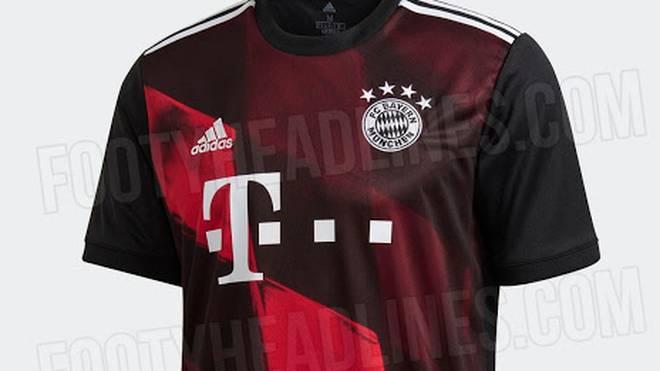 So soll das neue internationale Trikot der Bayern aussehen