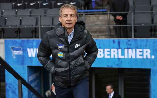 Jürgen Klinsmann ist als Trainer bei Hertha BSC eingesprungen