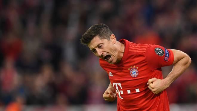Robert Lewandowski erzielte die Führung gegen Köln