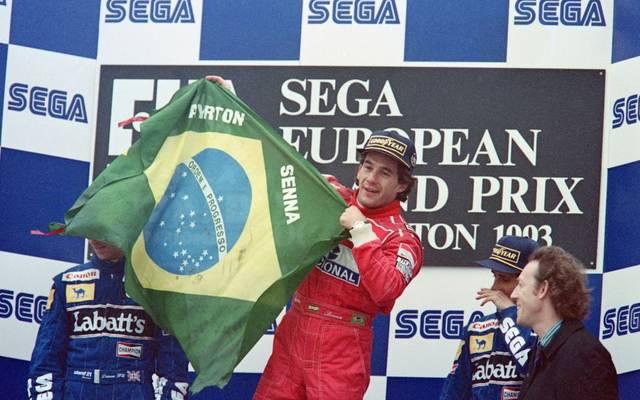 Ayrton Senna wurde insgesamt dreimal Formel-1-Weltmeister