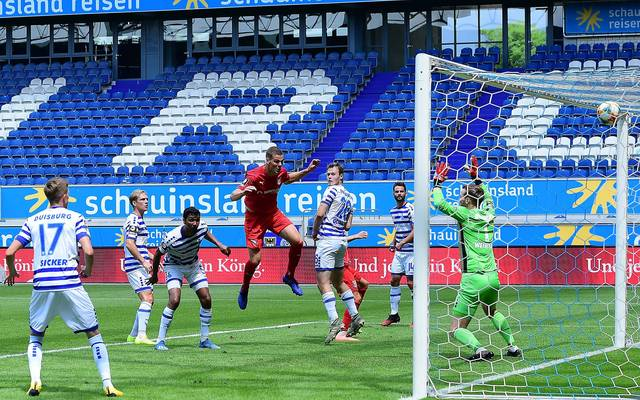 Der MSV Duisburg droht den Aufstieg in die 2. Bundesliga zu verspielen