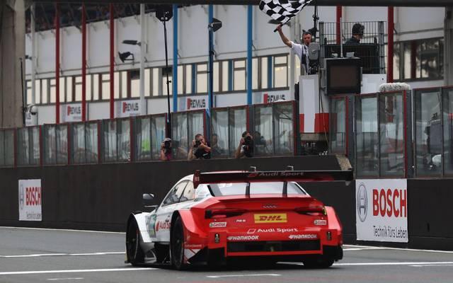 René Rast feierte auf dem Nürburgring seinen sechsten Saisonsieg