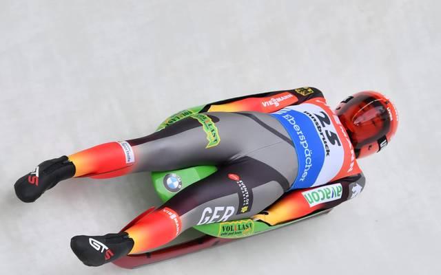 Julia Taubitz hat den Gesamtweltcup gewonnen