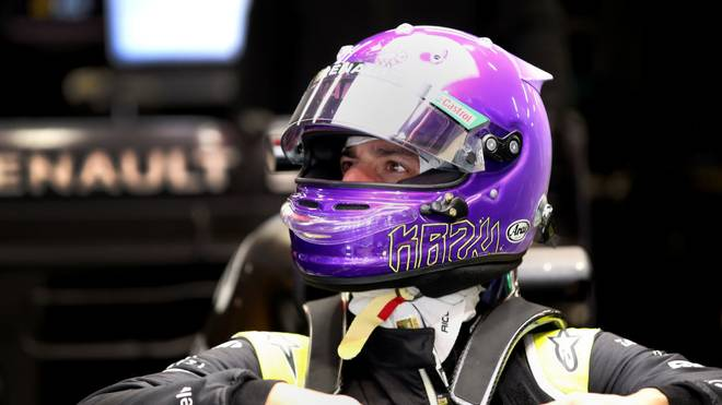 BARCELONA, SPAIN - FEBRUARY 19: Daniel Ricciardo of Australia and Renault Sport F1 prepares to drive in the garage during day one of Formula 1 Winter Testing at Circuit de Barcelona-Catalunya on February 19, 2020 in Barcelona, Spain. (Photo by Mark Thompson/Getty Images)