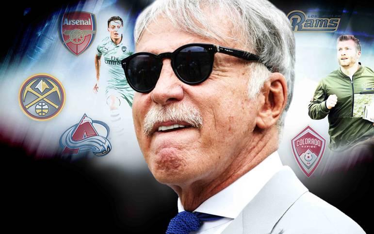 Arsenal, Denver Nuggets, L.A. Rams, Colorado Rapids - so viele Profiteams wie Stan Kroenke besitzt sonst niemand. Jetzt steigt er auch im eSports ein. SPORT1 nimmt den mächtigen US-Amerikaner und seine Mannschaften unter die Lupe