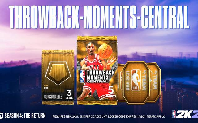 Ben Gordon ist einer der Headliner des Throwback-Moments-Packs der Central Division
